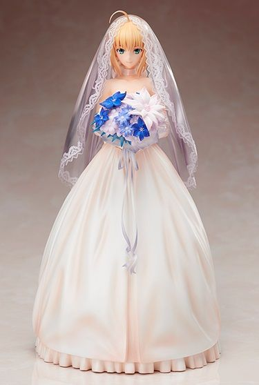 Fate Saber Bride Figur.