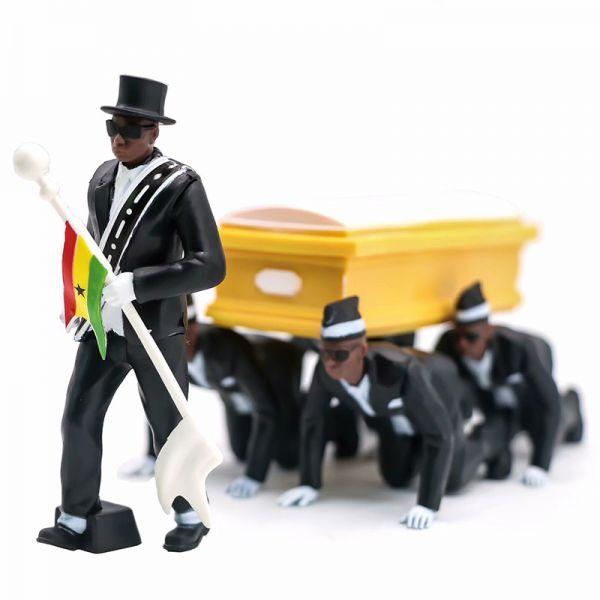 Coffin Dance aus Ghana
