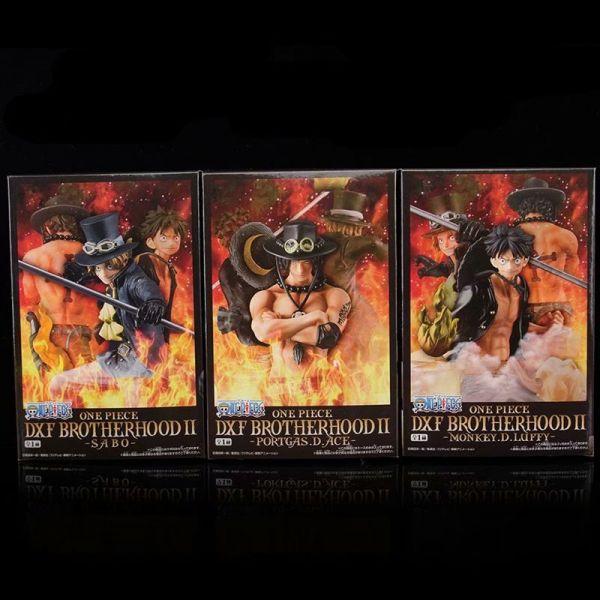 One Piece DXF luffy sabo Figuren Set
