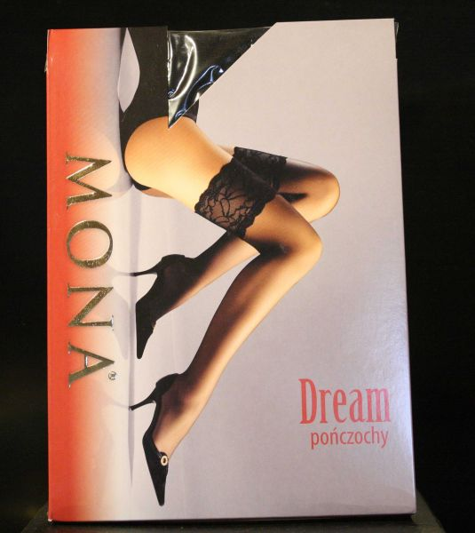 Mona Dream Nero Stockings