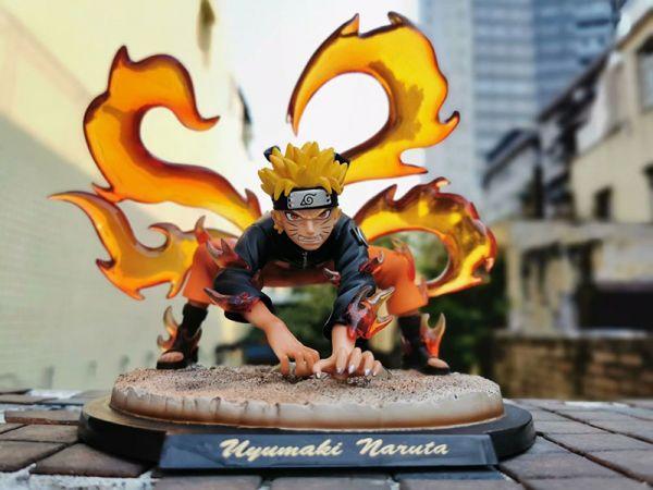 Naruto Shippuden Figur, Flammen