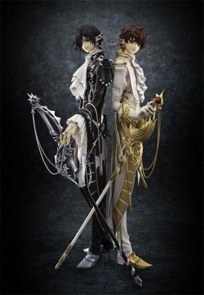 Code Geass Lelouch Lamperouge & Suzaku Kururugi